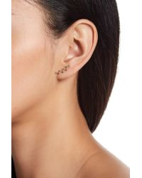 Rebecca Minkoff - Bubble Stone Ear Climbers - Lyst