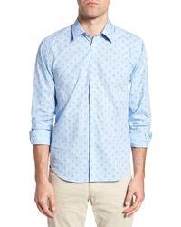 Jeremy Argyle Nyc - Slim Fit Lobster Print Sport Shirt - Lyst