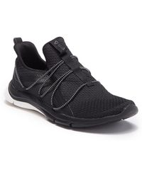Lyst - Reebok Print Her 3.0 Running Sneaker in Gray 659f9a34b