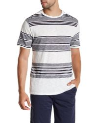 Threads For Thought - Striped Slub Tee - Lyst