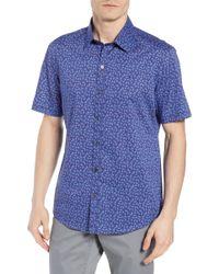 Zachary Prell - Regular Fit Sprad Woven Shirt - Lyst
