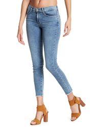 Siwy - Lauren Skinny Leg Undone Hem Jeans - Lyst