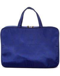 Kestrel - Solid Blue Weekend Organizer Bag - Lyst