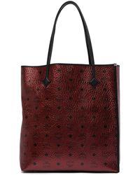 MCM - Monogrammed Shopper Tote Bag - Lyst