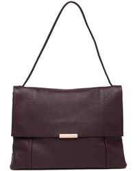 Ted Baker - Proter Soft Leather Shoulder Bag - Lyst