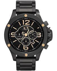 Armani Exchange - Men's Wellworn Analog Quartz Bracelet Watch - Lyst
