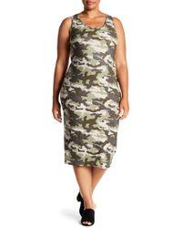 Derek Heart - Racerback Midi Tank Dress (plus Size) - Lyst