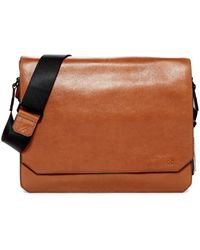 Vince Camuto | Tolve Leather Messenger | Lyst