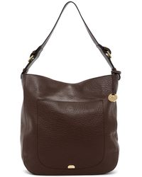 Lodis - Borego Dortha Rfid Leather Hobo Bag - Lyst