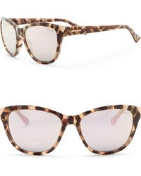 Guess - 55mm Cat Eye Sunglasses - Lyst