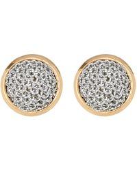 Adami & Martucci - Two-tone Woven Detail Stud Earrings - Lyst