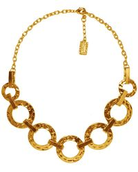 Karine Sultan - Marie Link Collar Necklace - Lyst