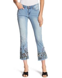 William Rast - Crop Flare Jr. Denim - Lyst
