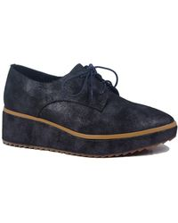 Antelope - Metallic Leather Platform Oxford - Lyst