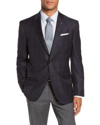 Ted Baker - Jed Trim Fit Plaid Wool Sport Coat - Lyst