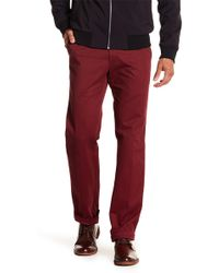 Peter Millar - Raleigh Washed Twill Solid Trousers - Lyst