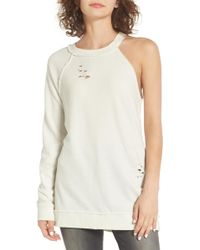 Treasure & Bond - One-sleeve Sweatshirt - Lyst