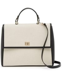 BOSS - Bespoke Leather Trimmed Satchel - Lyst
