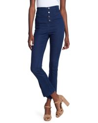Jealous Tomato - Snap Button Fly Jeans - Lyst