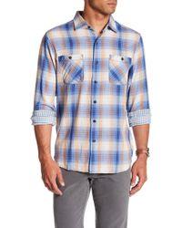 Tommy Bahama - Duble Ombre Standard Fit Plaid Sport Shirt - Lyst