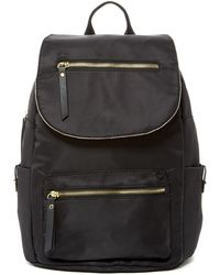 Madden Girl - Proper Nylon Flap Backpack - Lyst