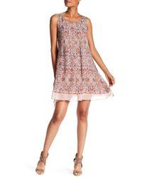 Max Studio - Printed Sleeveless Dress - Lyst