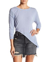 Go Couture - Asymetric Crew Neck Sweater - Lyst