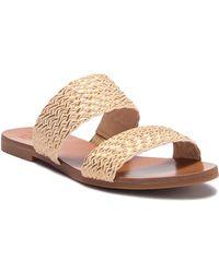 Vince Camuto - Rhonda Slip-on Leather Sandal - Lyst