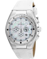 TechnoMarine - Women's 40mm Stainless Steel Fs20 Quartz Watch - Lyst