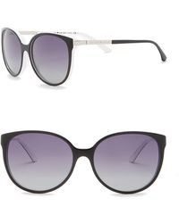 ee9fc6161baf Kate Spade - Shawna 56mm Rounded Sunglasses - Lyst
