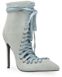 Privileged - Vamp Point Toe Bootie - Lyst