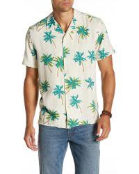Lucky Brand - Print Short Sleeve Regular Fit Shirt - Lyst