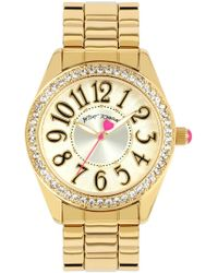 Betsey Johnson - Women's What A Hoot Crystal Embellished Watch, 40mm - Lyst