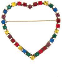 Marc Jacobs - Open Heart Rainbow Pin - Lyst