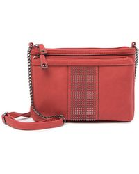 Max Studio - Pijut Multi-compartment Studded Crossbody Bag - Lyst
