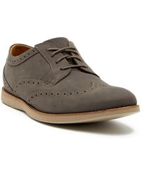 Clarks - Raharto Wingtip Leather Derby - Lyst