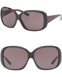 Prada - Square Heritage 61mm Sunglasses - Lyst