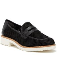 Franco Sarto - Celete Perforated Loafer - Lyst