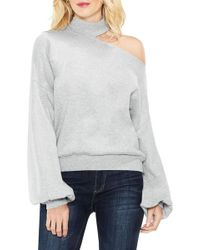 Two By Vince Camuto - One-shoulder Pullover (regular & Petite) - Lyst