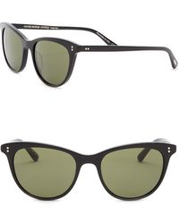 Oliver Peoples - Jardinette 52mm Cat Eye Sunglasses - Lyst