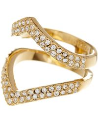 Botkier - Pave Stone Ring - Size 7 - Lyst