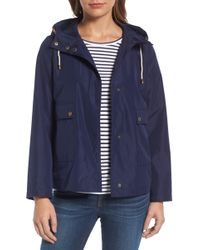 Caslon - Caslon Short Hooded Jacket - Lyst