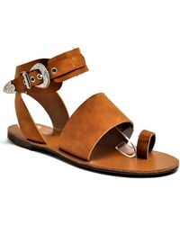 Mata Shoes - Faux Suede Summer Sartorial Sandal - Lyst