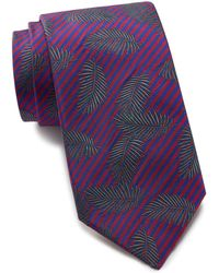 Thomas Pink - Rossi Palm Silk Tie - Lyst
