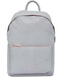 Ted Baker - Rahri Reflective Croc Backpack - Lyst