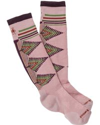 Smartwool - Phd Ski Light Pattern Knee High Socks - Lyst