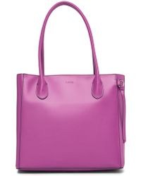 Lodis - Audrey Rfid Leather Cecily Tote - Lyst