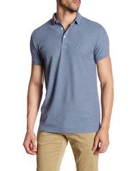 Lindbergh - Short Sleeve Polo Shirt - Lyst