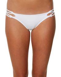 O'neill Sportswear - Salt Water Crisscross Bikini Bottoms - Lyst