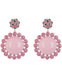 Marc Jacobs - Dot Drop Statement Earrings - Lyst